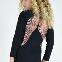 Angel`s face Slouch wings top