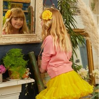 Pixie Tutu Skirt Daffodil Yellow